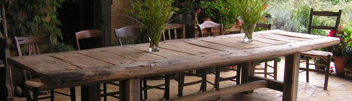 Eiken tafels zelf een tafel bouwen je kunt het zelf voor for Zelf een tuintafel maken