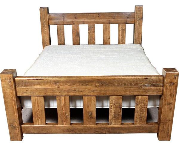 Houten bedden groningen - Massief houten platform bed ...