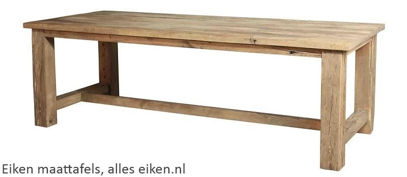 Magnifiek Eiken tafel met bijzondere eiken bladen. - Eikenrijk.nl @YU44